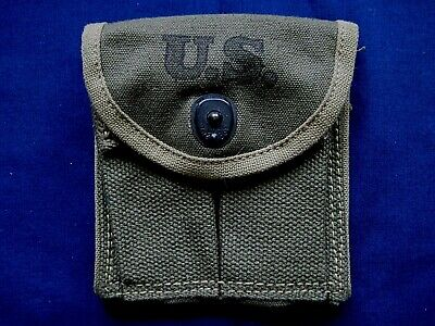 Vintage 1943 US Army WWII KADIN M1 Carbine ammo pouch - unissued?
