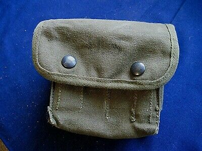 Vintage 1945 US WWII ARAKELIAN CO First Aid/Medical Pouch/contents 1944