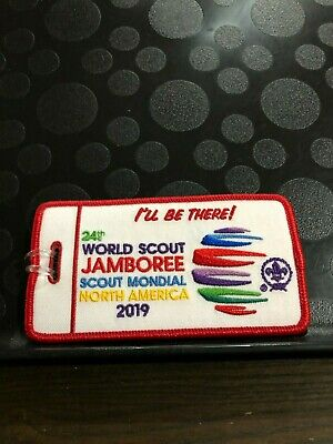 2019 World Jamboree Scout Mondial I'll Be There! Luggage Tag