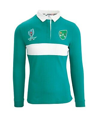 Official Mens Ireland Rugby World Cup Japan 2019 Top Long Sleeve Sports