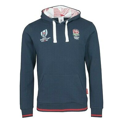 Ladies Mens England Rugby World Cup 2019 Japan Hoody Size S M L XL Sports