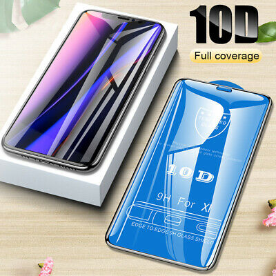 10D Curved Screen Protector Tempered Glass Film For iPhone 11 Pro Max/ 11 Pro/11