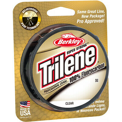 Berkley Trilene 100% Fluorocarbon Fishing Line (200 yds) - Clear
