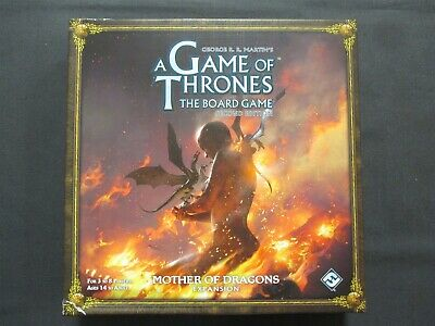 OEJ ~ A Game of Thrones The Board Game ~ Mother of Dragons Expansion