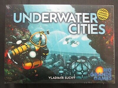 OEJ ~ Underwater Cities ~ Resource Management Board Game