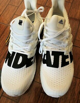 ADIDAS X UNDEFEATED Ultra Boost UNDFTD White Size 9.5 DS brand new wbox BB9102