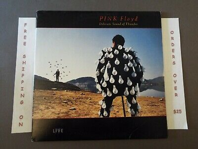"Pink Floyd Delicate Sound Of Thunder 1988 Live Dbl Lp ""Wish You Were Here"""