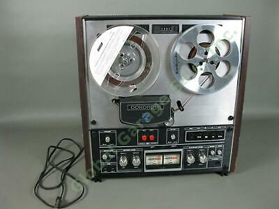 """Vintage Dokorder 7700 Reel To Reel 18"""" Stereo Tape Player/Recorder Tested IWC NR"""
