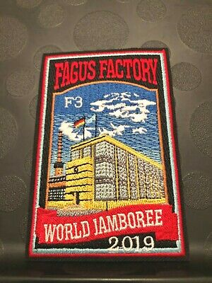 2019 24th WORLD JAMBOREE SCOUT MONDIAL FAGUS FACTORY F3 NOT IN SUBCAMP SET