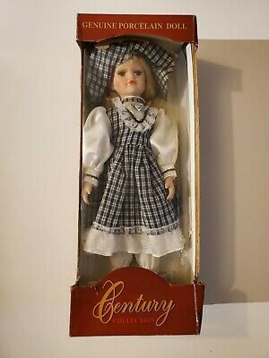 Century COLLECTION GENUINE PORCELAIN DOLL Hand Crafted & Painted 16 INCH - NEW