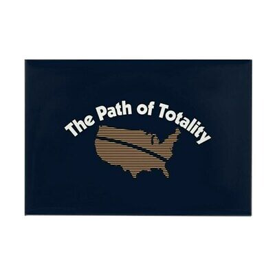 "CafePress The Path Of Totality Magnet 2"" x 3"" (91868814)"
