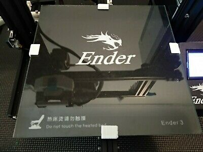 Creality Ender 3 Clear Glass Bed 3mm Thick