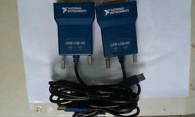 Original NI GPIB-USB-HS Data Acquisition Card 778927-01 IEEE 488