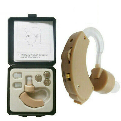 1PC Digital Hearing Aid Behind the Ear BTE Sound Voice Amplifier Audiphone Set