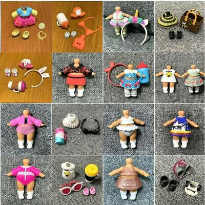 200+ Real Outfit Dresses clothes for LOL Surprise Dolls Big Sisters Unicorn toys