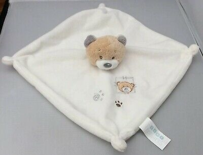 Teddy Soft Toy Blankie Comforter By Tiny Treasures