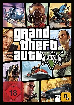 GTA - Grand Theft Auto V PC Download Vollversion Rockstar Launcher PC Code Email