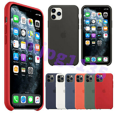 For Apple iPhone 11 Pro Max XS XR Genuine Original Silicone Cover Case OEM New