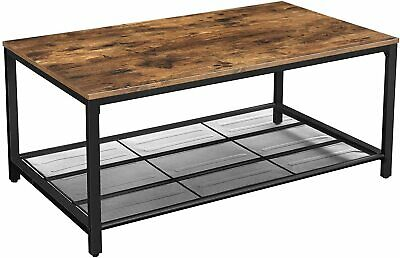 Table Basse Industriel Vintage Table Basse Salon Bois Fer