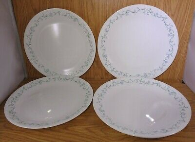 """Corelle 10 1/4"""" COUNTRY COTTAGE Dinner Plates Set of 4"""