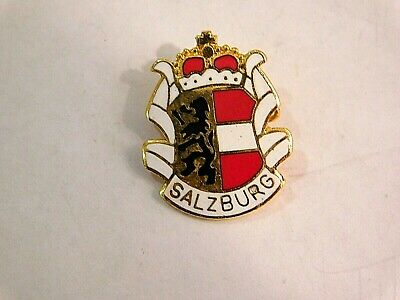 Vintage German Bavarian Octoberfest Hat Pin Brooch - SALZBURG