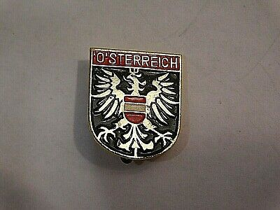 Vintage German Bavarian Octoberfest Hat Pin Brooch - O'STERREICH