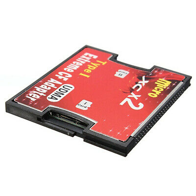 2 Port Micro TF to CF Card ADAPTER HC XC COMPACT FLASH TYPE I UDMAEFUL