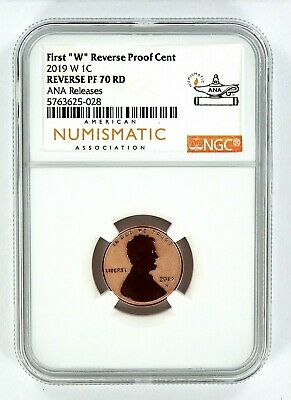 2019 W Reverse Proof Lincoln Penny NGC PF70 RD - Chicago ANA Releases