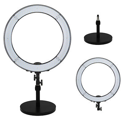 """Prismatic LED Halo 18"""" Ring Light for Photo/Video with Weighted light Stand"""
