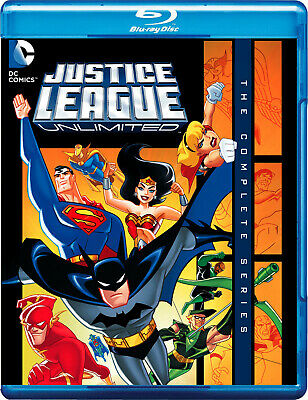 Justice League Unlimited: The Complete Series 1 & 2 | New | Blu-ray Region free