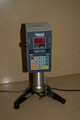 Brookfield Digital Viscometer Model Dv-Ii / Lvtdvcp-Ii