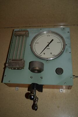 Ruska Instrument Corp Calibrator Model 1011-800 0-1.00 Atm (Z1)