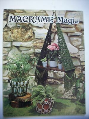 Macrame Magic patterns plant hangers pot holders  decor
