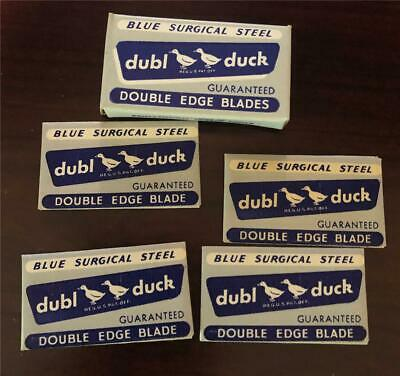 Old Vintage Full Pack Of Dubl Duck Safety Razor Blades Double Edge