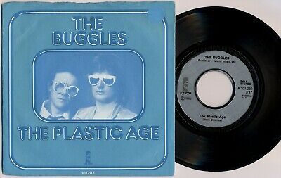 "THE BUGGLES 'The Plastic Age' 1980 Dutch 7"" / 45 vinyl single, misprint"