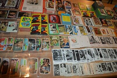 LARGE NON SPORTS CARD COLLECTION!! CARDS MOSTLY FROM 1960's-1980's! MUST SEE!!!