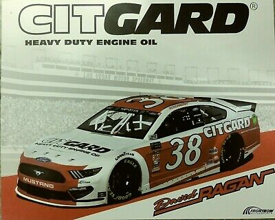 2019 David Ragan #38 Citgard Hero Card
