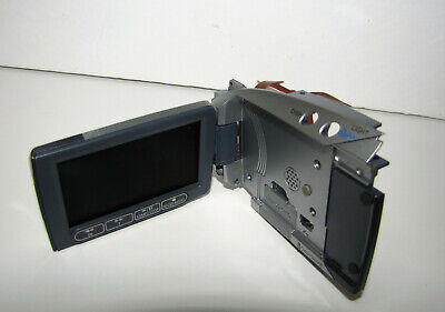 Canon Vixia Hv20 Lcd Display With Lateral Body Panel & Flex Part