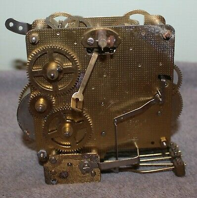 Vintage Franz Hermle Clock Movement 341-020 0 Jewels