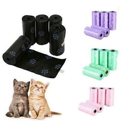 150Pcs Doggy Bag - Pet Dog Cat Poo Poop Pooper Scooper Waste Bag Toilet Clean