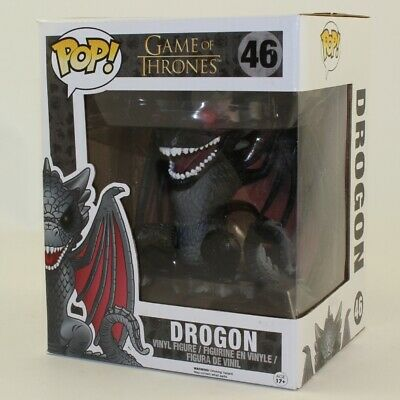 Funko POP! Game of Thrones Figure - DROGON #46 (Hot Topic Exclusive) *Non Mint*