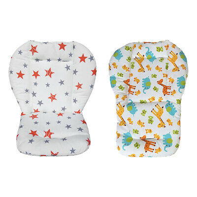 Breathable Baby Stroller Seat Pad Liner High Chair Seat Cushion Liner Mat Cotton