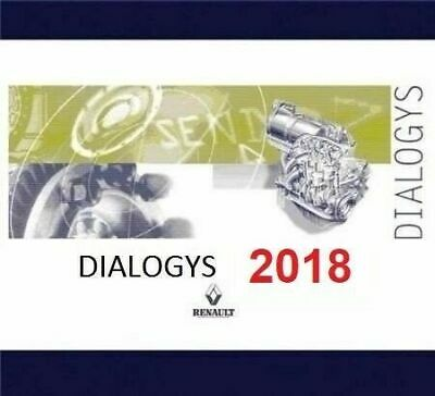 LATEST 2018✔️Renault Dialogys v4.72 REPAIR SOFTWARE✔️ NATIVE INSTALL✔️ DOWNLOAD