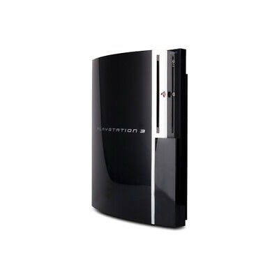 Playstation 3 - PS3 Konsole Fat 80 Gb Modell Nr. Cechm03 in Schwarz ohne Alles