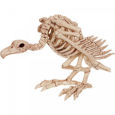 Skeleton Vulture Halloween Decoration Scary Bird Bones Creepy Holiday Decor New