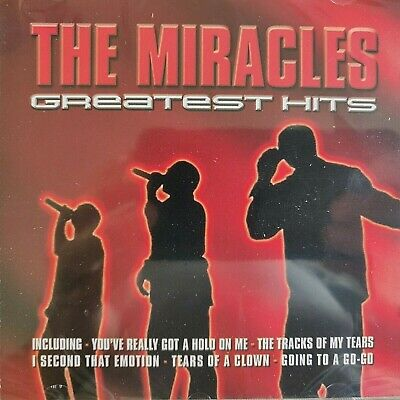 NEW SEALED - THE MIRACLES GREATEST HITS Pop R&B Soul Disco Motown Music CD Album