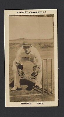 Pattreiouex (Early) - Famous Cricketers (Plain) - #C50 Sidwell