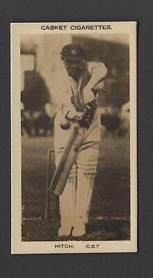Pattreiouex (Early) - Famous Cricketers (Plain) - #C67 Hitch