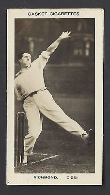 Pattreiouex (Early) - Famous Cricketers (Printed) - #C55 Richmond