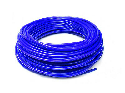 4mm Silicone Vacuum Hose Blue Pipe Hose Turbo Boost Water Air Coolant Valve 1M